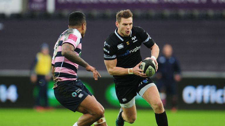 Dan Biggar was at the centre of everything positive for the home side at the Liberty