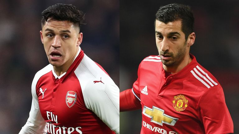 Alexis Sanchez and Henrikh Mkhitaryan could be moving in opposite directions
