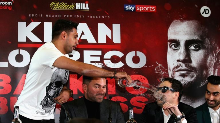 Amir Khan will taken on Phil Lo Greco on his British comeback in April 21