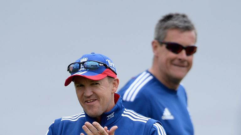 Andy Flower led the Test team with Ashley Giles in charge of the limited overs sides when England last had split coaches