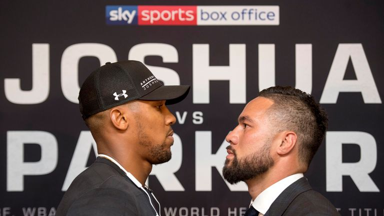 Anthony Joshua and Joseph Parker will meet again in Cardiff on March 31