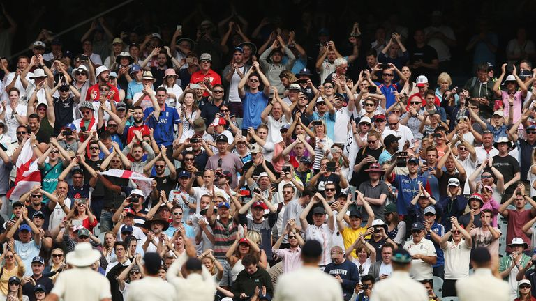 There was not much for the Barmy Army to cheer over the five-match series