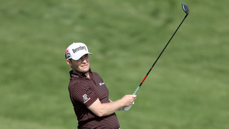 Paul Dunne falters on day two of the Dubai Desert Classic