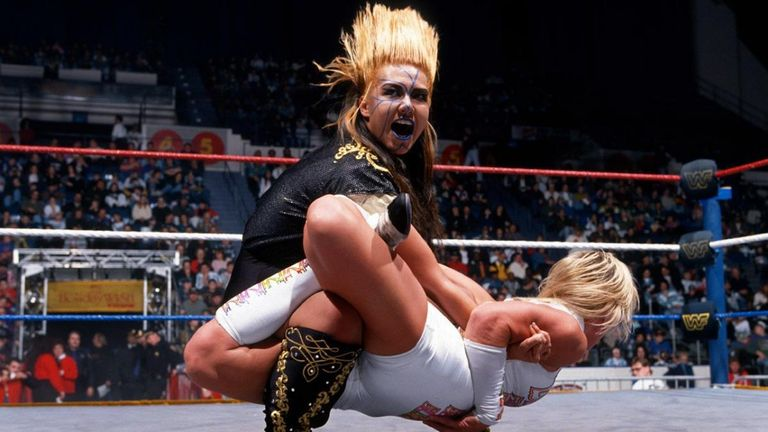 Bull Nakano had several matches against Alundra Blayze in the WWF in the mid-1990s