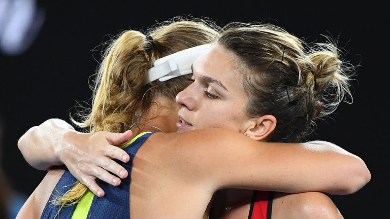Simona Halep and Caroline Wozniacki played out a thrilling Australian Open final last month