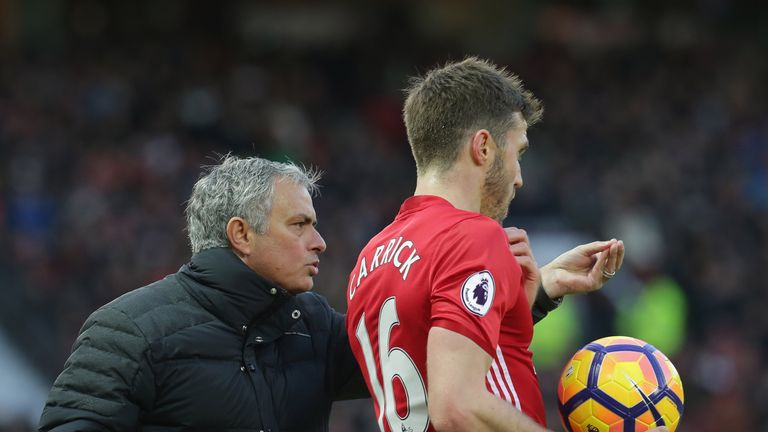 Carrick will join Mourinho's coaching staff at the end of the season