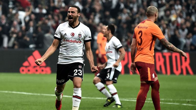 Cenk Tosun is expected to complete a £27m Everton move on Friday afternoon