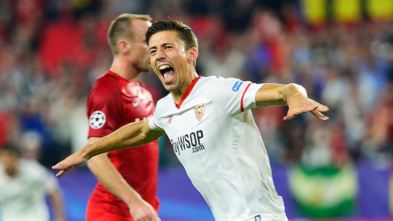 Sevilla defender Clement Lenglet is reportedly closing in on a move to Barcelona