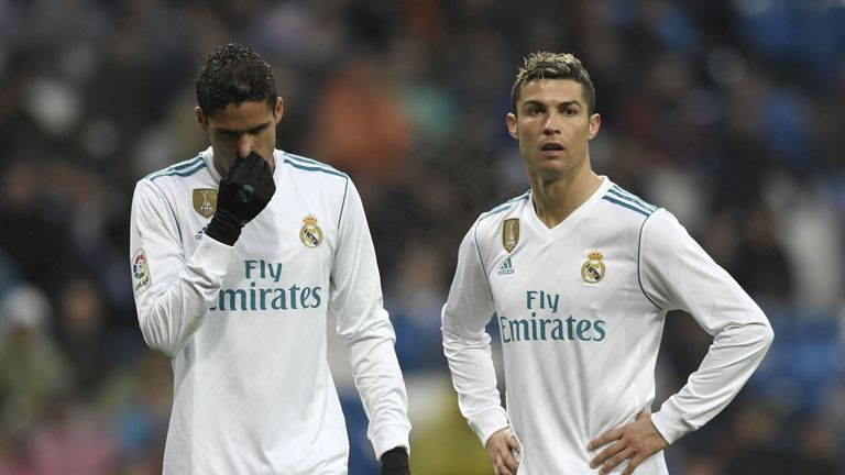 Cristiano Ronaldo has struggled for form this season.