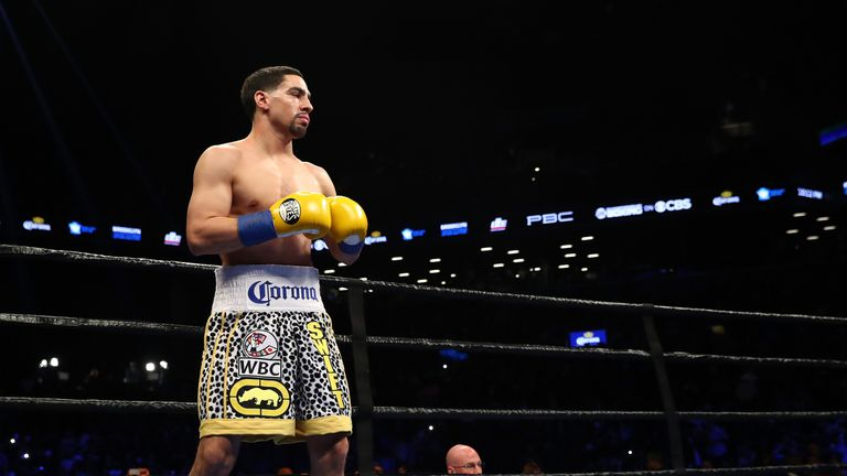 Danny Garcia holds a win over Khan and could be another opponent