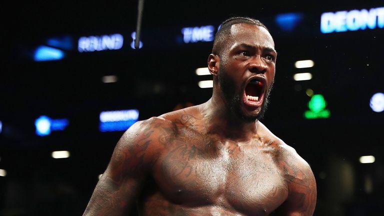 Deontay Wilder is unbeaten in 39 fights