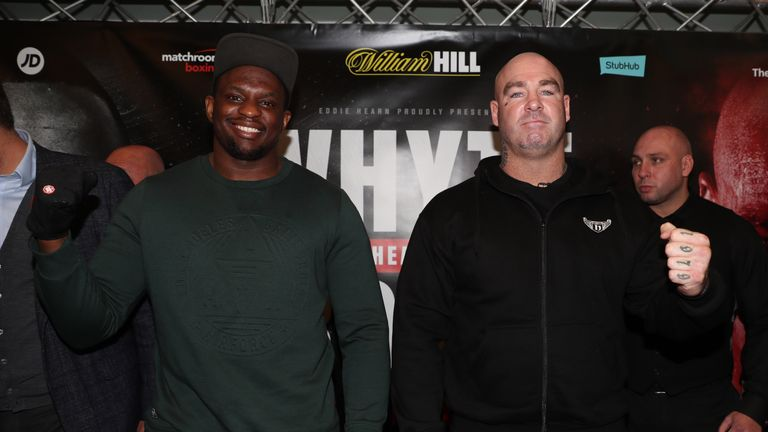 Dillian Whyte and Lucas Browne meet in a mouthwatering March on Sky Sports