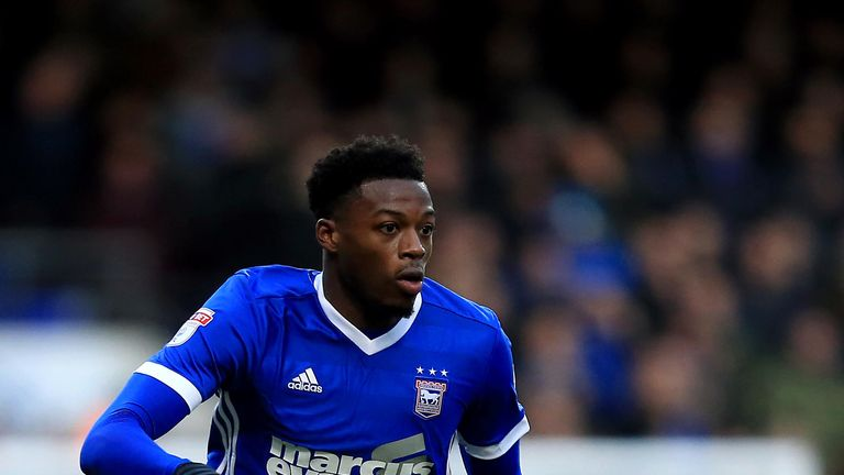 Dominic Iorfa is missing for Ipswich