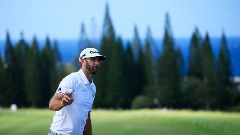 Johnson takes control at Kapalua