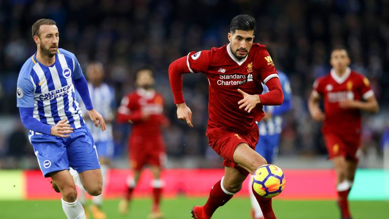 Emre Can looks set to leave Liverpool this summer