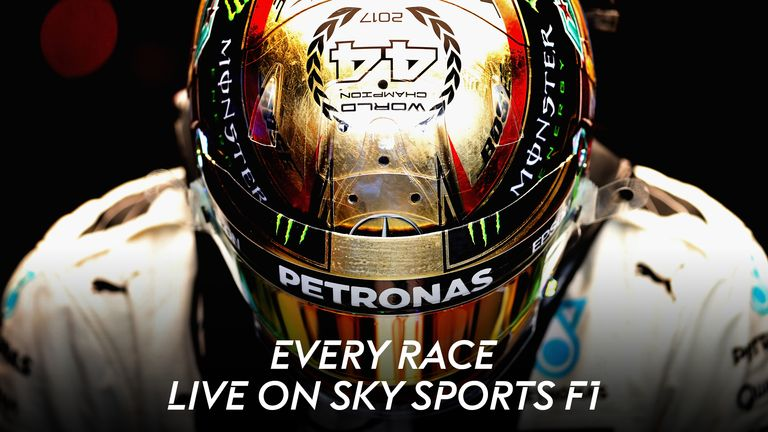 Watch every race in 2018 live on Sky Sports F1