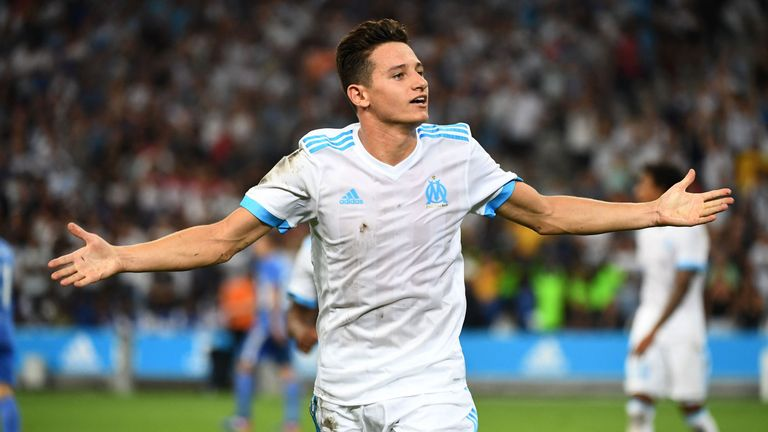 Former Newcastle winger Florian Thauvin