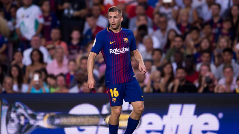 Deulofeu moved back to Barcelona in 2017 after a spell at Everton