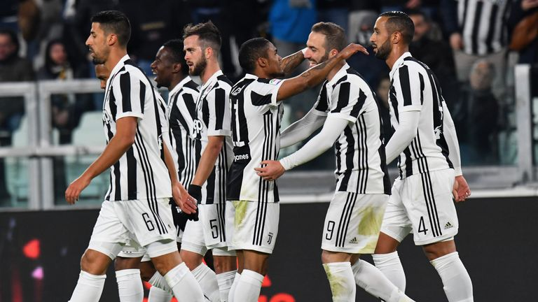 Juventus are two points clear at the top of the Serie A table