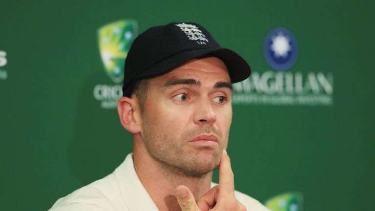 James Anderson argued that major changes are not required after losing the Ashes