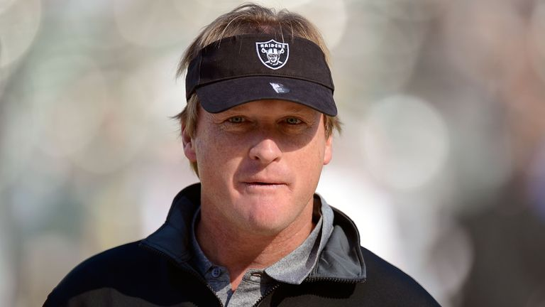 Oakland Raiders are set to bring back John Gruden as head coach in a record deal
