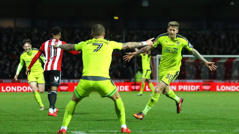 Jon Stead's goal was enough to secure Notts County a shock cup win at Brentford
