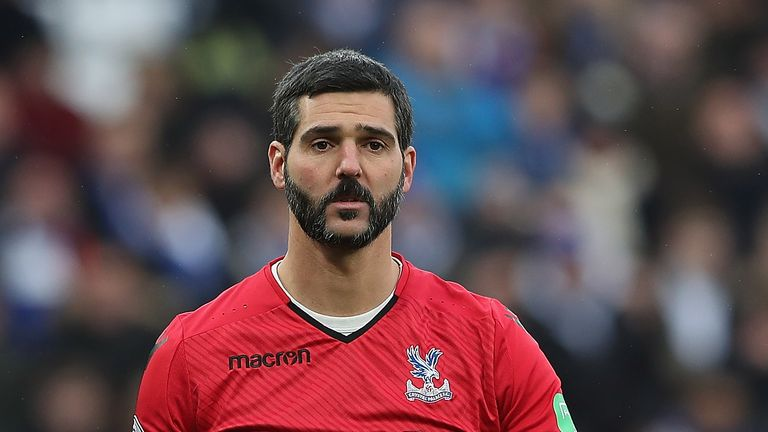 Julian Speroni has played 403 games for Crystal Palace across all competitions