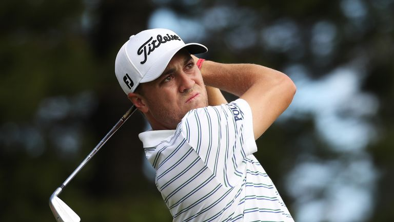 Justin Thomas completes the Woods/McIlroy group