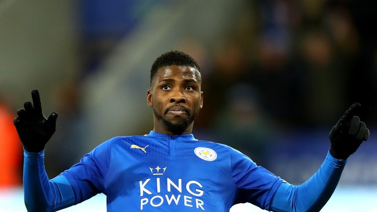 Kelechi Iheanacho has scored six goals since joining Leicester