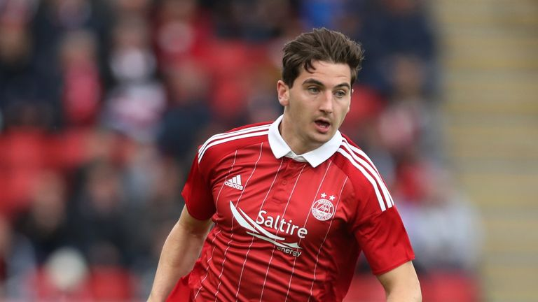 Norwich loanee Kenny McLean scored the opening goal for Aberdeen on Saturday