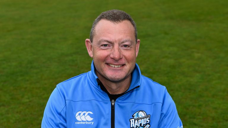 Sharp steps up from his role as second-team batting coach at New Road