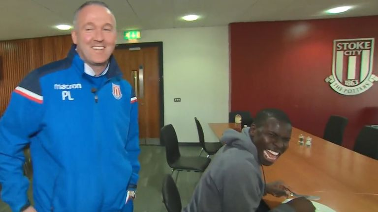 Paul Lambert is already having an impact beyond first-team level at Stoke