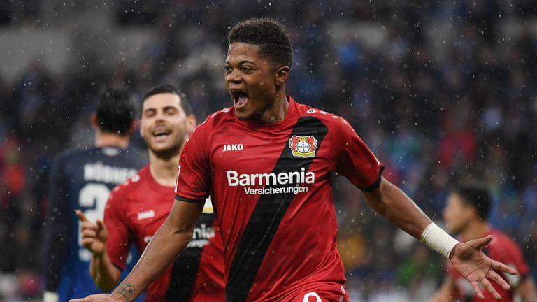 Bailey shines as Leverkusen climb to second