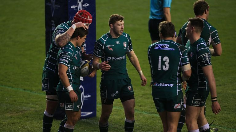 London Irish are nine points adrift of 11th-place Worcester with three games remaining