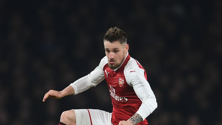 Arsenal's Mathieu Debuchy completes Saint-Etienne loan move