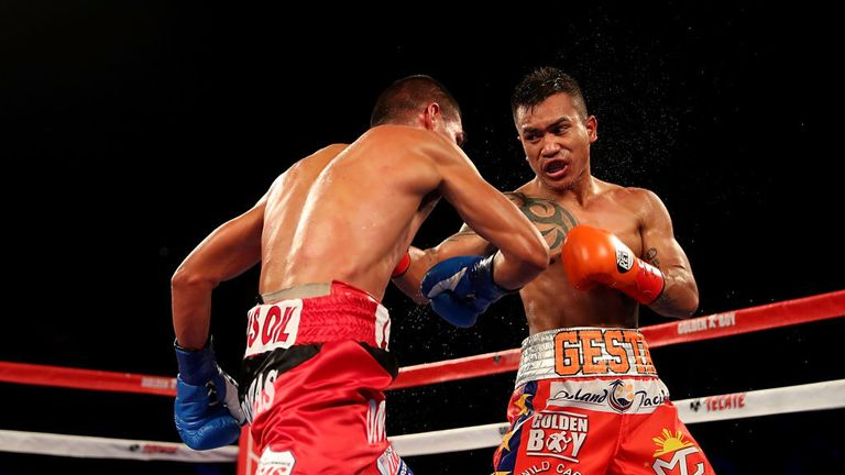Mercito Gesta will challenge fellow Golden Boy fighter Linares at lightweight