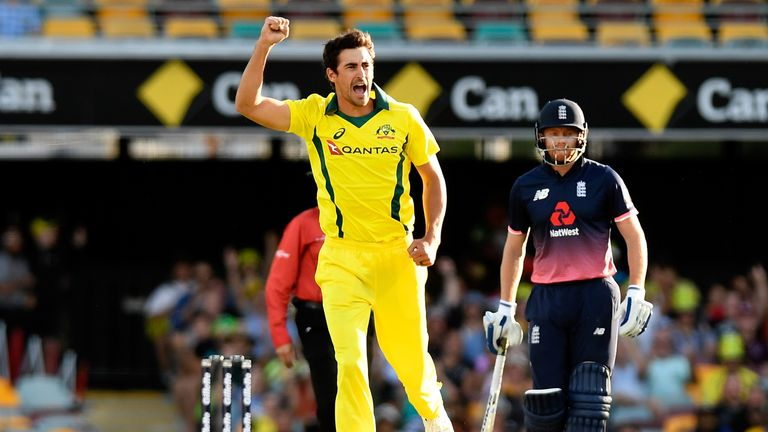 Mitchell Starc pic credit Sky Sports