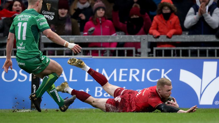 Munster are second in Conference A going into the European break
