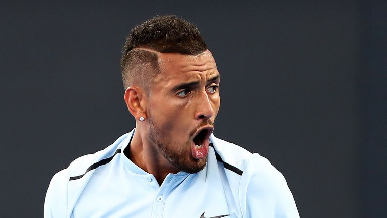 Nick Kyrgios defeated Matthew Ebden to make progress in Brisbane