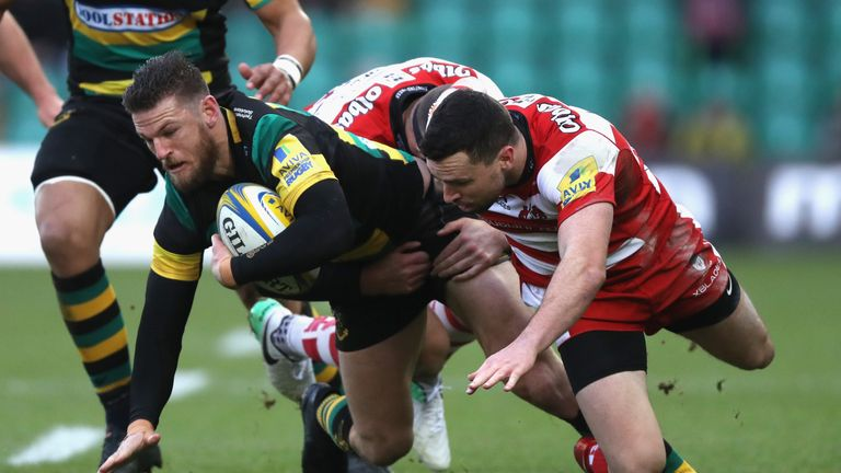 Northampton had won just one of their last six matches at Franklin's Gardens in all competitions