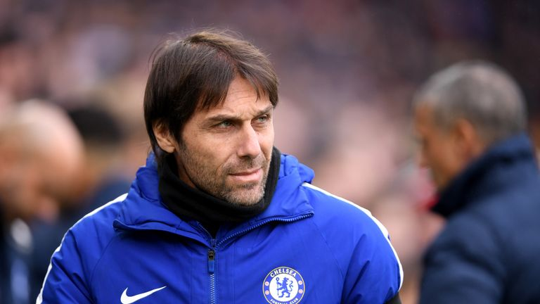 Antonio Conte is under pressure at Stamford Bridge following Chelsea's heavy defeat at the hands of Watford on Monday Night Football