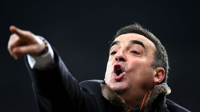 Carlos Carvalhal insists Swansea can 'surprise' Liverpool  on Monday night