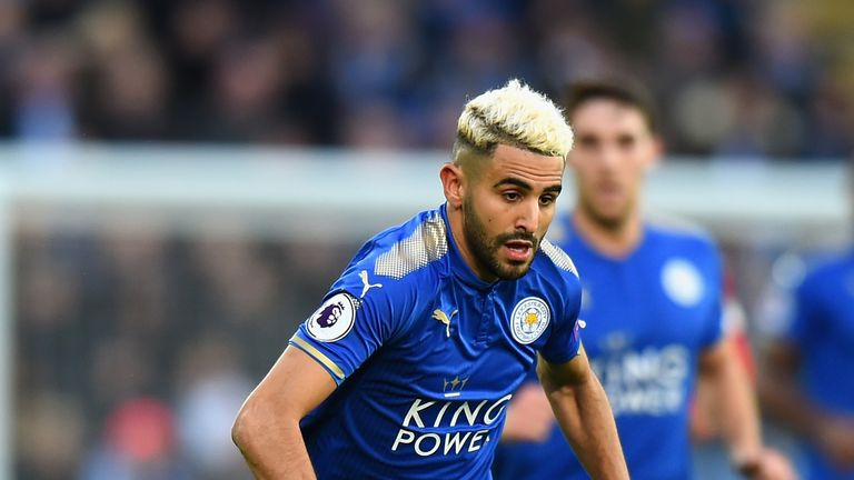 Riyad Mahrez has handed in an official transfer request at Leicester