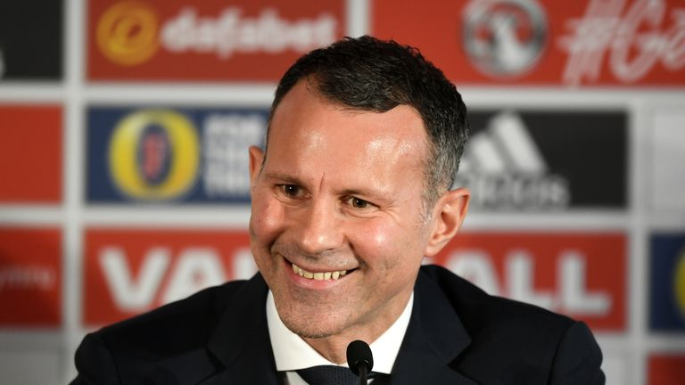 Ryan Giggs will take charge of his first game as Wales boss at the China Cup