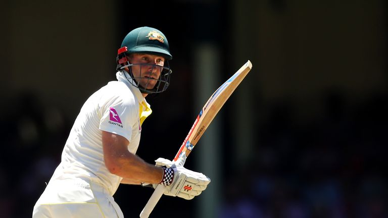 Shaun Marsh has excelled after his recall ahead of the first Test