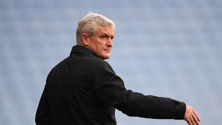 Mark Hughes suffered another miserable afternoon in Coventry