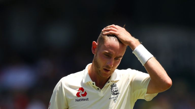 England's medium-fast bowlers, such as Stuart Broad, largely struggled on the flat Australian pitches during the Ashes