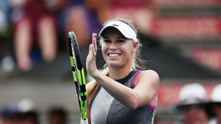 Wozniacki is one of the favourites in the women's field
