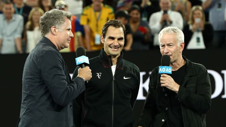 Roger Federer advances at Day 4 of the Australian Open