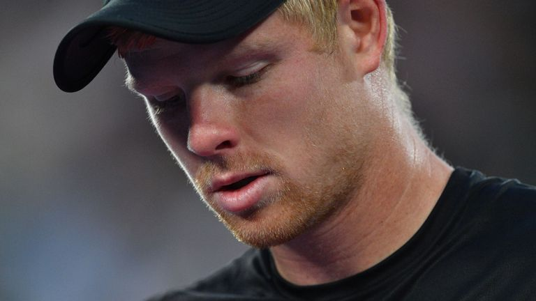 Britain's Kyle Edmund has been forced to withdraw from the Argentina Open due to illness